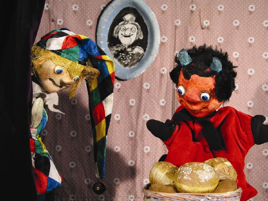 Teufelchen und die Pfannkuchen