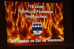 115 Jahre Feuerwehr Großsachsen
