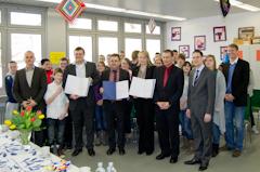 Karl-Drais-Schule geht Bildungspartnerschaft mit Edeka Südwest ein