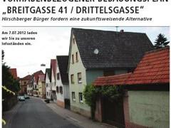 """Hirschberger Bürger fordern eine """"zukunftsweisende Alternative"""""""