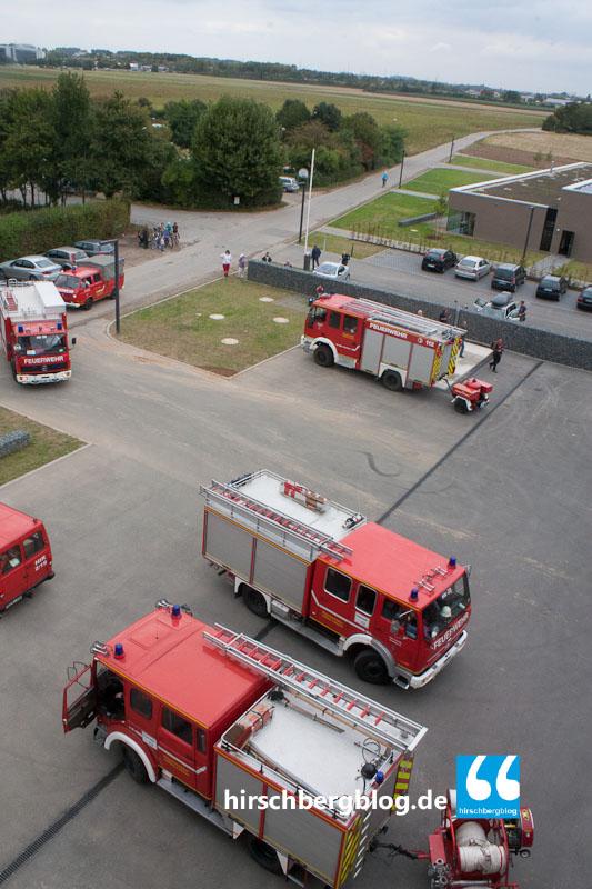 Feuerwehr Hirschberg im HLZ-5607-120915