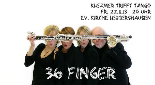 36 Finger plakat digital