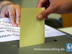 Wahlhelfer erhalten höhere Aufwandsentschädigung
