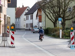 Großsachsener Straße neu und wieder befahrbar